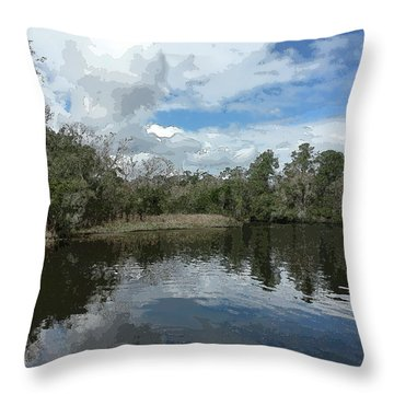 Ashley River Throw Pillow