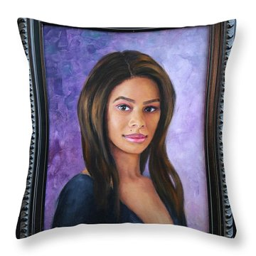 Ashly Ann Throw Pillow