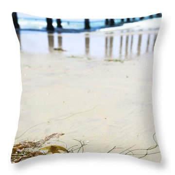 Ashore Throw Pillow