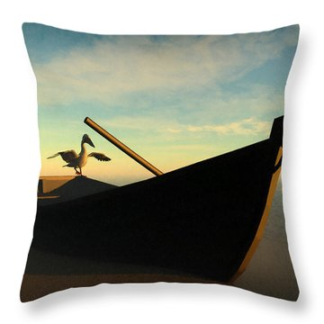 Ashore... Throw Pillow