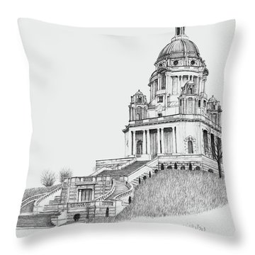 Ashton Memorial Throw Pillow