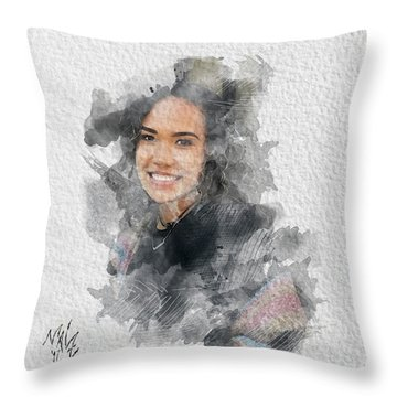 Asiah Throw Pillow