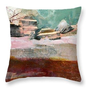 Asian Storm Throw Pillow