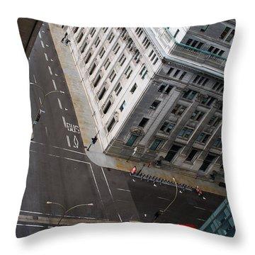Askew View Throw Pillow by Lisa Knechtel