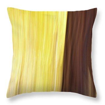 Aspen Blur #3 Throw Pillow
