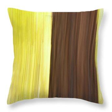 Aspen Blur #4 Throw Pillow