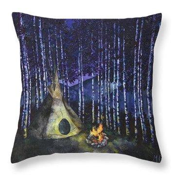 Aspen Camp Throw Pillow