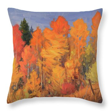 Aspen Riot Throw Pillow