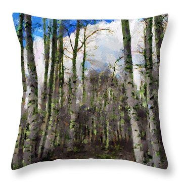 Aspen Standing Throw Pillow