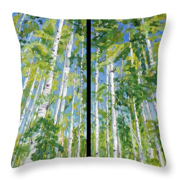 Aspen Twin Perspectives Throw Pillow