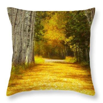Say You'll Follow Me Throw Pillow