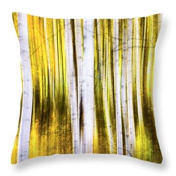 Aspen Wonderland Throw Pillow