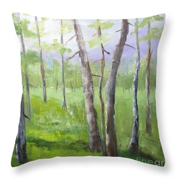 Aspens Soaring Throw Pillow