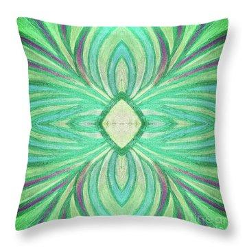 Aspirations Of Harmony Throw Pillow by Rachel Hannah