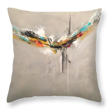 Aspire Throw Pillow