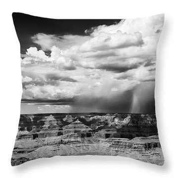 Assault On The North Rim Throw Pillow