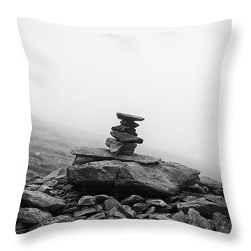 Throw Pillow featuring the photograph Assembled by Adrian Pym