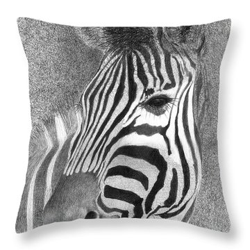 Assiduous Throw Pillow