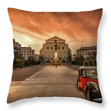 Assignation Throw Pillow by Marty Garland