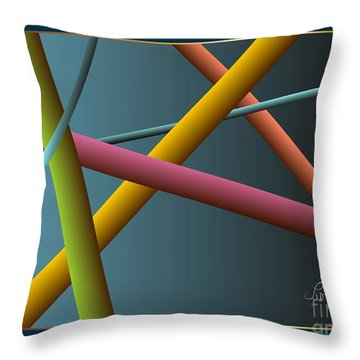 Assumption Throw Pillow by Leo Symon
