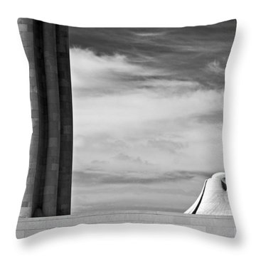 Assyrian Sphynx Throw Pillow