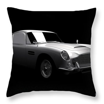 Aston Martin Db5 Throw Pillow