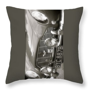 Aston Martin Db5 Smart Phone Case Throw Pillow by John Colley