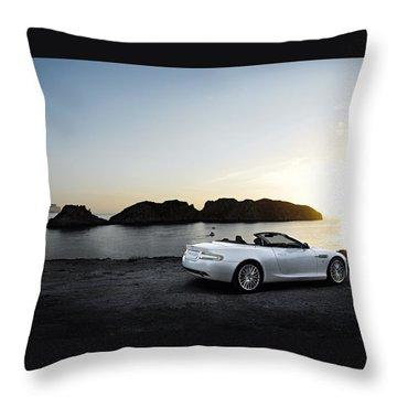 Aston Martin Db9 Throw Pillow