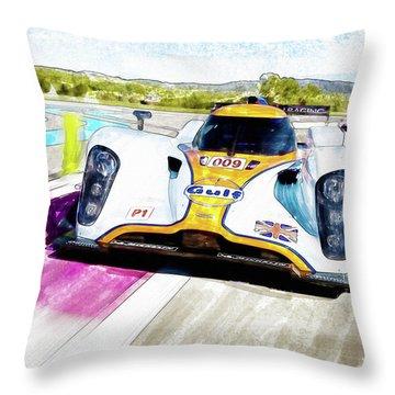 Aston Martin Vantage 009 Throw Pillow by Michael Cleere