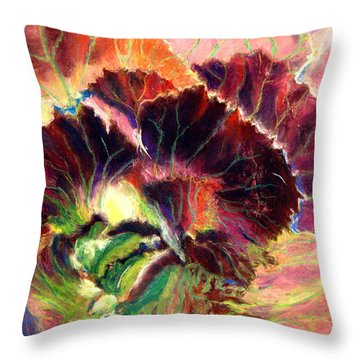 Astonishing Cabbage  Pastel Throw Pillow