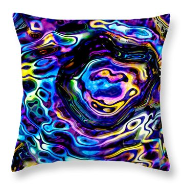 Astral Platter Throw Pillow
