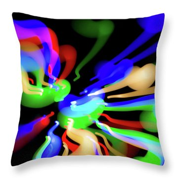 Astral Travel Throw Pillow