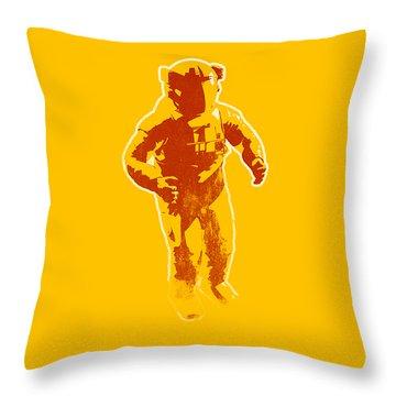 Astronaut Graphic Throw Pillow