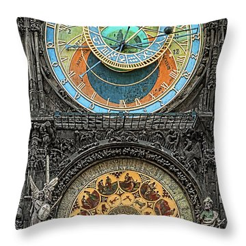 Astronomical Hours Throw Pillow