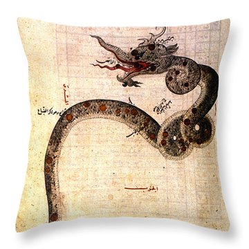Astronomy: Arabic Ms Throw Pillow by Granger