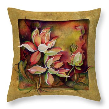 At A Family Wander Throw Pillow