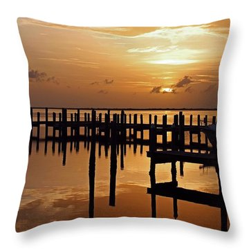 At Day's Close Throw Pillow