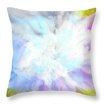 At Full Bloom Throw Pillow