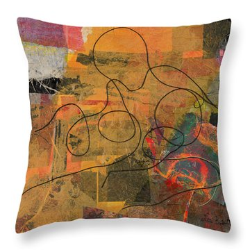 At Loose Ends Throw Pillow