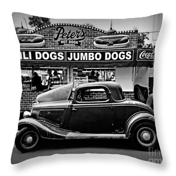 At Peter's 2 Throw Pillow by Perry Webster