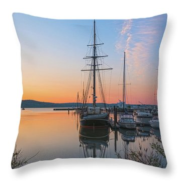 At Rest At Dawn Throw Pillow