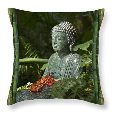Throw Pillow featuring the photograph At Rest by Bell And Todd