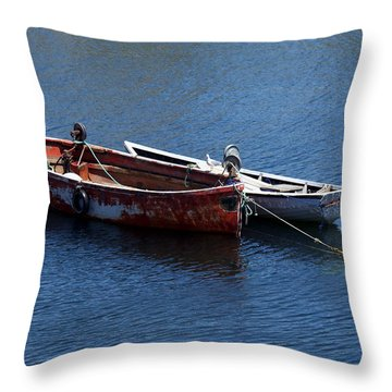 At Rest Throw Pillow by Kelvin Booker