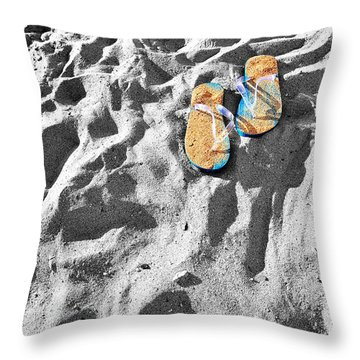 At Sea Throw Pillow by Marwan Khoury