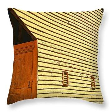 At The Corner Throw Pillow