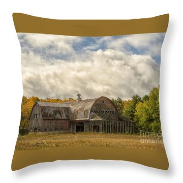 At The Edge Of The Medow Throw Pillow