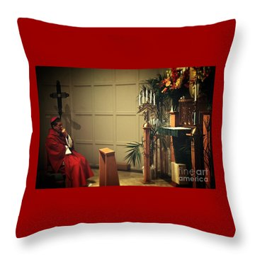 At The Heart Of Everything Throw Pillow