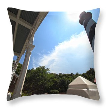 At The Light Throw Pillow