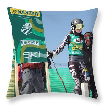 At The Start Throw Pillow
