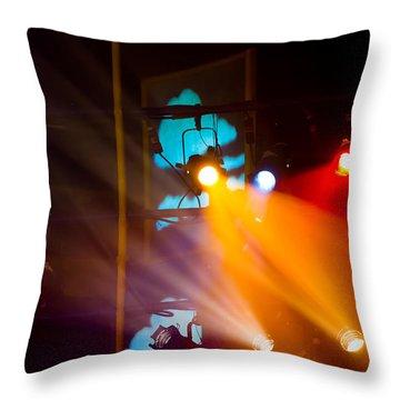 At The Studio Throw Pillow